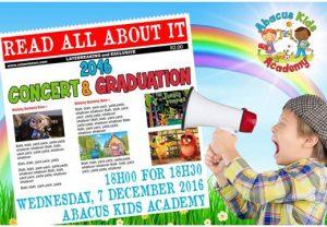 Abacus Kids Academy Concert & Graduation 2016
